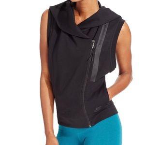 Nike tech fleece sleeveless hoodie zip front vest